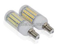 15W E14 69LEDs Ultra Bright 5050 SMD Corn LED Bulb