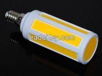 COB LED lamps E14 7W Ultra bright Corn bulb light COBSMD AC 220V
