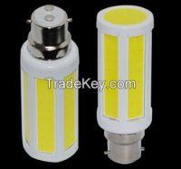 B22 7W COB AC 220V LED Corn Bulb Soft Light
