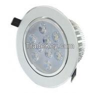 Aluminum Body 9 X 3W LED Ceiling lamp 27W Recessed Downlight
