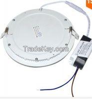 LED Panel light 3W 7W 12W 18W Recessed Downlight 110V 220V