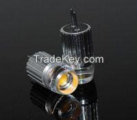 LED lamp G4 COB 1LED 1.5W Droplight LED Bulb DC 12V Crystal Chandelier