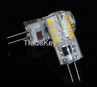 225LM G4 24Leds SMD 2835 AC220V 1.5W Corn Silicone LED Bulb lamp
