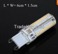 Ultra Bright LED Silicone lamp G9 9W 3014 SMD 104s LEDs Droplight