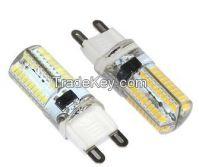 G9 7W LED Crystal lamp 3014 SMD AC 110V -140V 80LEDs Chandelier