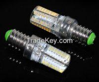 Mini LED lamps E14 3014 SMD 64LEDs 6W Crystal Chandelier 220V 240V