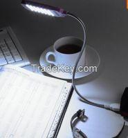 Ultra Bright Flexible LED USB light reading lamp for Laptop Notebook