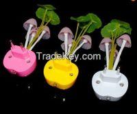 Mushroom Fungus Lamp 3 LEDs Nightlight bulb home decor LED RGB