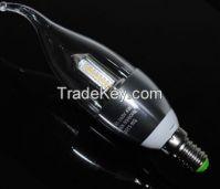 4W Silver Rawai Warm White/White E14 3014 32LED 85V-265V LED