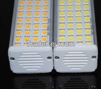 Aluminum Horizontal Plug light LED G24 SMD 5050 LED Corn bulb lamp