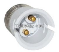 E27 TO B22 adapter High quality material fireproof material socket ada