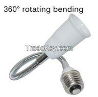 E27 to E27 Flexible 30cm Extend Base LED Light Adapter Converter Socke