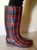 Fame&Fashion PVC female rain boots