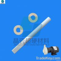 alumina and zirconia ceramic shaft for machine parts