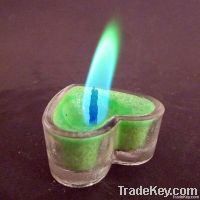 color flame tealight candles