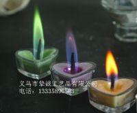 BOAI color flame tealight votive candles