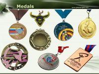 Die cast souvenirs sport medals