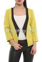 3/4 sleeve women jackets made in Turkey