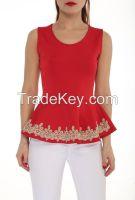 new season sleeveless blouses and tops for women