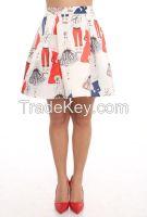 women mini skirts with prints