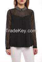 ladies long sleeve blouses and shirts