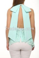 new design wholesale women blouses made in Turkey