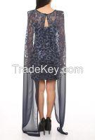 wholesale elegant new design evening dresses made in Turkey 2016