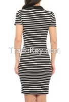 wholesale dresses with stripes made in Turkey 2016