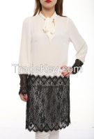women long sleeve tunics blouses and shirts made in Turkey