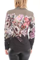 Wholesale Women Blouses With Long Sleeves and Flower Prints