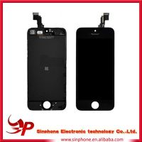 Black Front Housing LCD display Assembly for iPhone 5C China alibaba