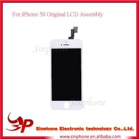 Original Working Black lcd screen assembly For iphone 5S