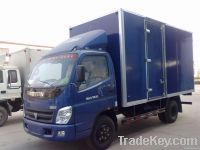 Supply van truck, box truck, aluminum box truck