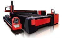 GZ1530F2 Fiber Laser Cutting Machine with Bracket Tube Cutting Device