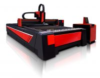 GZ2060HP High Power Fiber Laser Cutting Machine with Housing and Exchange Table