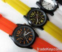 alalogue quartz silicon watch