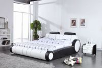 C056  modern leather Bed
