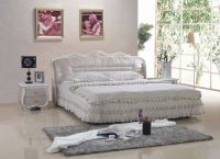 9021    popular antique  leather  bed