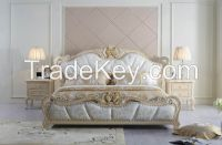 A205   Royal style classic bedroom furniture