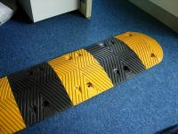 high quality rubber, PVC/cast steel speed bump, sleeping policeman