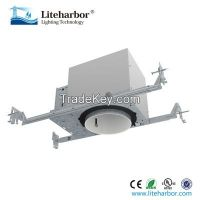Line Voltage 4 Inch New Construction NON-IC Recessed Housing