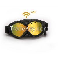 HD 1080P WIFI sports camera HD Camera Skiing Goggles