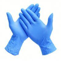 Nitrile Examination Gloves (Powdered, Semi Powdered, Powdered - free)