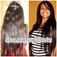 BRAZILIAN KNOTS HAIR EXTENSIONS - VERY CHEAP!!