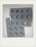 Silicone Candy Dessert Chocolate Cake mold Ice Tray Pan 12 cavities