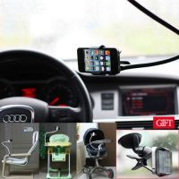 UNIVERSAL GOOSENECK LAZY BED/ TABLE/ DESKTOP/ CAR MULTI FUNCTIONAL MOUNT KIT HOLDER FOR CELL PHONE IPHONE GALAXY PSP