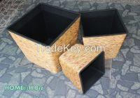 New product Vietnam crafts Planter pot hyacinth Home24h - Planters Pots, Woven Craft-Home24h.biz