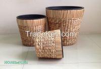 Best selling Plastic pots hyacinth Planters Pots, Woven Craft-Home24h.biz