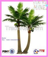 2014 China supplier huge outdoor decorative artificial tree artificial coconut tree