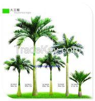 big artificial tree artificial  king coconut tree